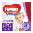 Huggies Pants Unisex Megabox S3 120ea