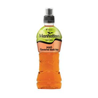 Manhattan Peach Iced Tea 500 ML x 6