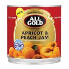 All Gold Apricot & Peach Jam 900g x 6