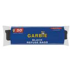 Garbie Black Refuse Bags 50 Per Roll
