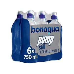Bonaqua Water Pump 750ml x 6