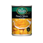 Rhodes Peach Slices In Syrup 410g x 12