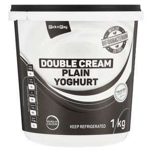 PnP Double Cream Plain Yoghurt 1kg