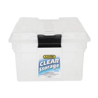 Addis 28L Clear Storage Bin