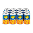 Koo Choice Grade Peach Slices 410g x 12