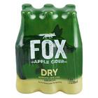 Fox Apple Cider NRB 330ml x 6