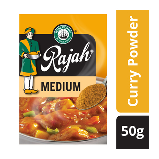 Rajah Medium Curry Powder 50g