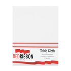 Redribbon White Tablecloth 2700mm x 2700mm
