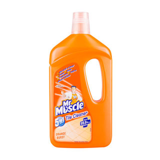 Mr Muscle Orange Burst Tile Cleaner 750 Ml x 6