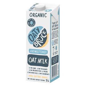 Nutty Bruce Organic Oat Milk 1l