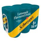 Schweppes Lemonade Can 200ml x 6