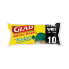 Glad Force Flex Refuse Bags 10ea