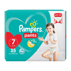Pampers Baby-Dry, Size 7 Value Pack, 35 Nappy Pants