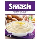 Smash Instant Mash Potato Garlic Butter 104g