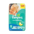 Pampers Active Baby Nappies XL Jumbo Pack 44s x 2