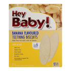 Hey Baby Banana Teething Biscuit 50gr