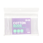 PnP Cotton Buds In White Tub 200ea