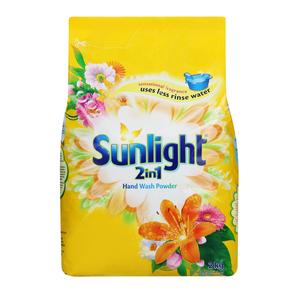 Sunlight Hand Washing Powder 2In1 Regular 2kg