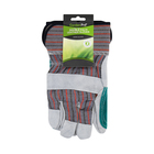 Garden Pro Double Palm Leather Gloves