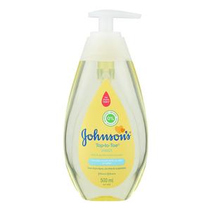 JOHNSON'S TOP TO TOE BABY WASH 500ML
