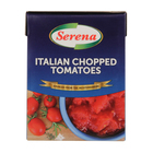SERENA CHOPPED TOMATOES 390GR