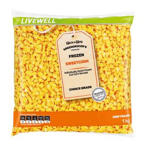 PnP Frozen Sweetcorn 1kg