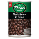 Rhodes Black Beans In Brine 400g