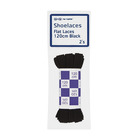 No Name Shoelaces Black 120cm