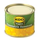 Koo Creamstyle Sweetcorn 215 GR