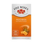 Five Roses Honey And Rooibos Tea 20ea
