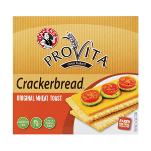 Bakers Crackerbread Wheat 125g