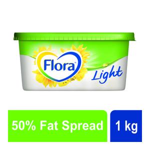 Flora Light 50% Fat Spread 1kg