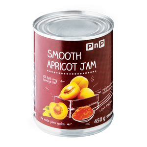 PnP Smooth Apricot Jam 450g