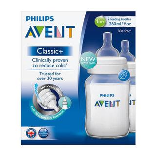 Avent Feeding Bottle Classic 260ml 2ea
