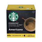 Starbucks Veranda Blend by Nescafe Dolce Gusto Blonde Roast Coffee pods 12s