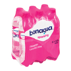 Bonaqua Strawberry Flavoured Sparkling Water 500ml x 6