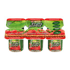 Clover Fruits of the Forest Dairy Snack Strawberry 100gx6