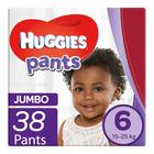 Huggies Pants Unisex Jumbo Size 6 38ea
