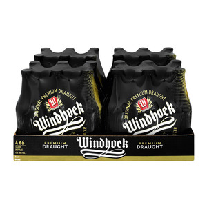 Windhoek Draught NRB 440 ml x 24
