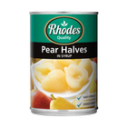 Rhodes Pear Halves In Syrup 410g