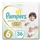 Pampers Premium Disposable Pants Size 6 VP 36's