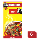 Knorrox Beef Stock Cubes 6s