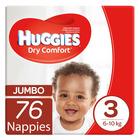 Huggies Dry Comfort Jumbo Size 3 76ea