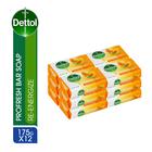Dettol Bath Soap Re-enegizer 175g x 12