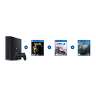 Playstation PS4 PRO 1TB + 3 Games