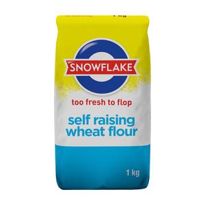 Snowflake Self Raising Flour 1kg