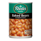 Rhodes Baked Beans In Tomato Sauce 410g