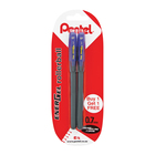 Pentel Energel Pen 0.7mm Blue+1free