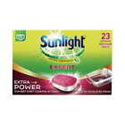 Sunlight Dishwashing Tab Extra Pwr 23ea