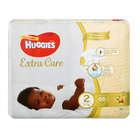 Huggies New Baby Nappies Size 2 From 3-6kg 66s